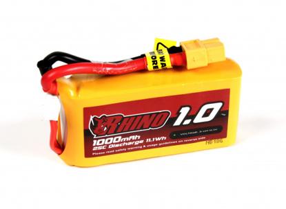 Bild von Baterie Li-Po Rhino 1000mAh 3S 25C XT60