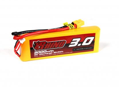 Bild von Baterie Li-Po Rhino 3000mAh 3S 15C XT60 (dron verze)