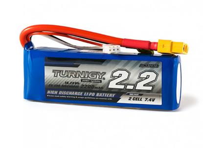 Bild von Baterie Li-Po Turnigy 2200mAh 2S1P 25C / 35C