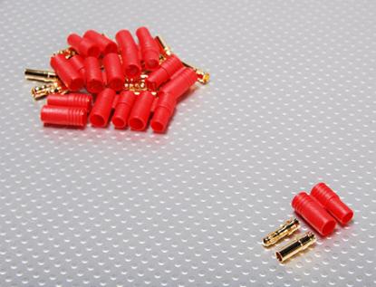 Bild von Konektor HXT 3.5 mm Gold plast - 1ks